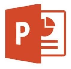na obrazku je logo Power point